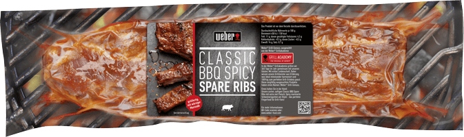 Classic BBQ Spicy Spare Ribs